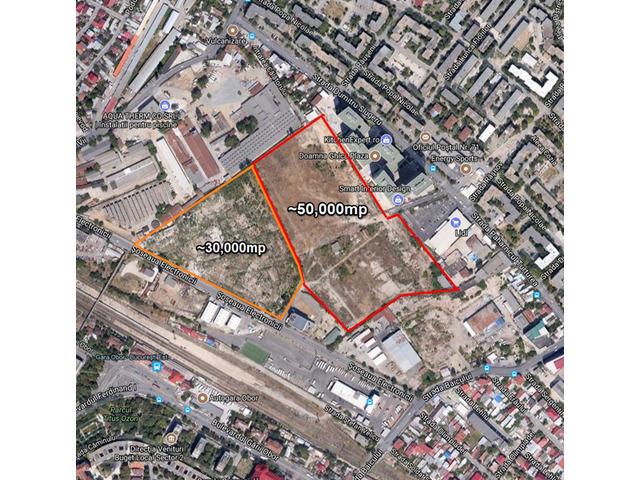 intravilain land 32500 sq  + 50000 sq in the back