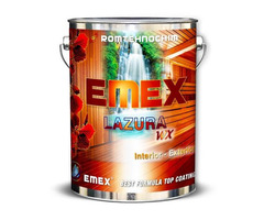 Lazura Colorata pentru Lemn EMEX WX